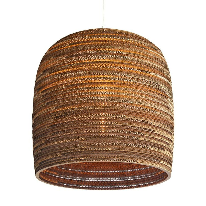 Graypants Scraplight Bell Pendant Lamp