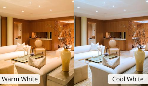 Tip choosing color temperature for Cool living room lighting