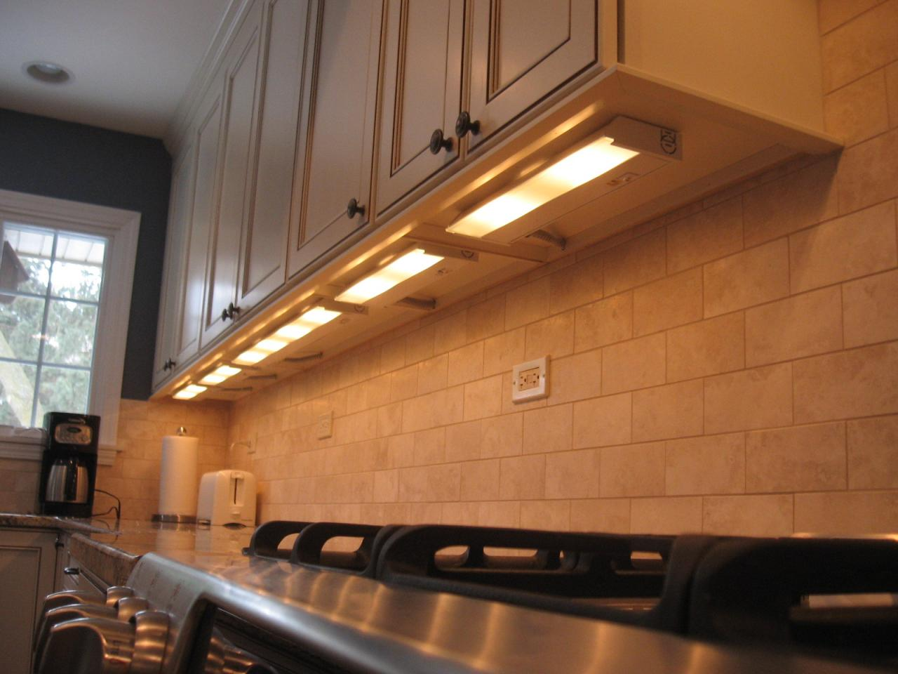ordinary Kitchen Under Cabinet Lighting Options #2: kitchen-cool-kitchen-under-cabinet-lighting-idea-dazzling-