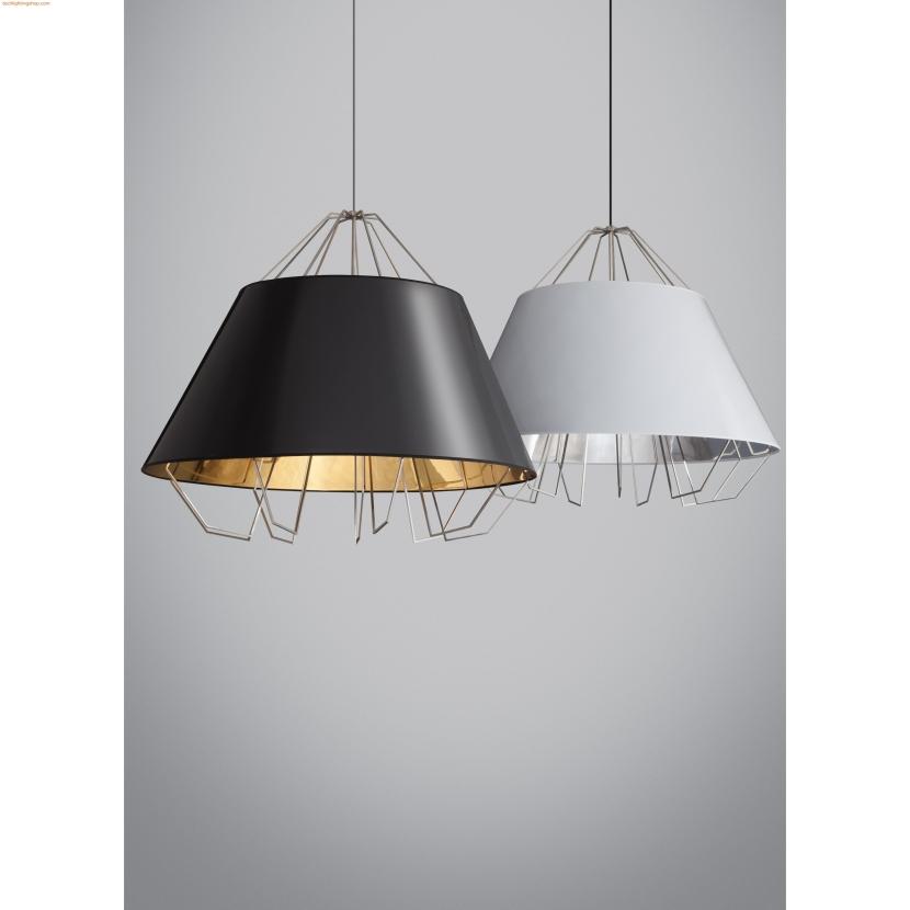 tl-artic-grande-pendant-gloss-black-gold-shade