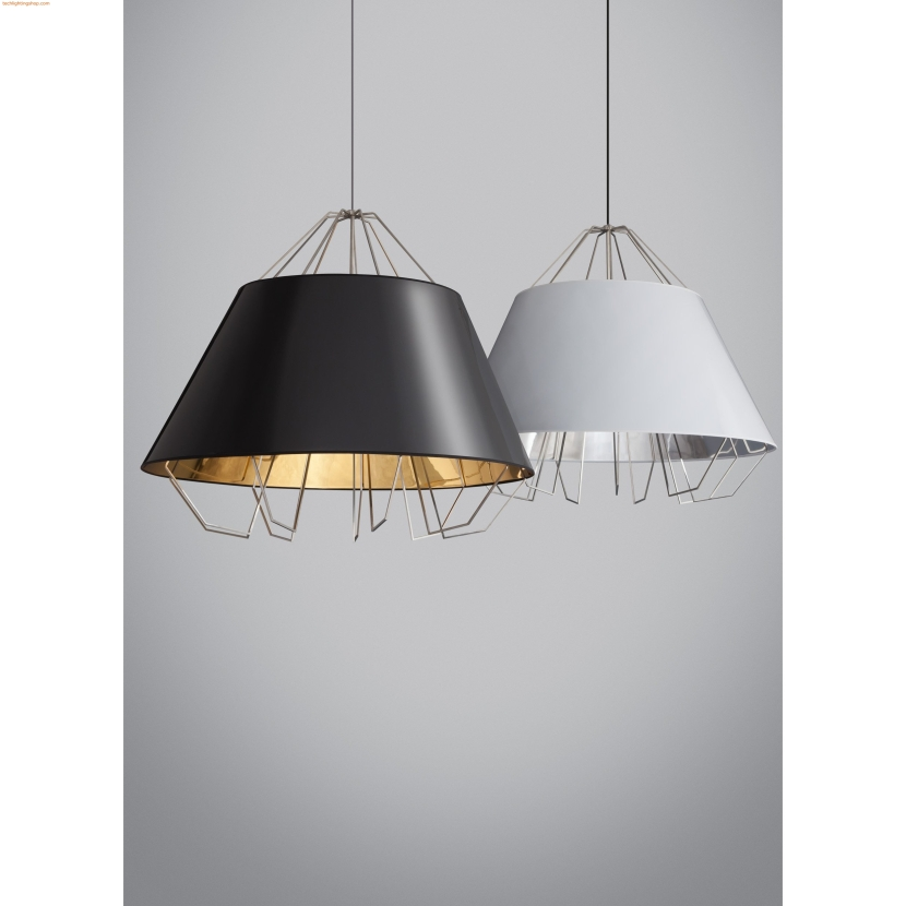 tl-artic-grande-pendant-gloss-black-gold-shade