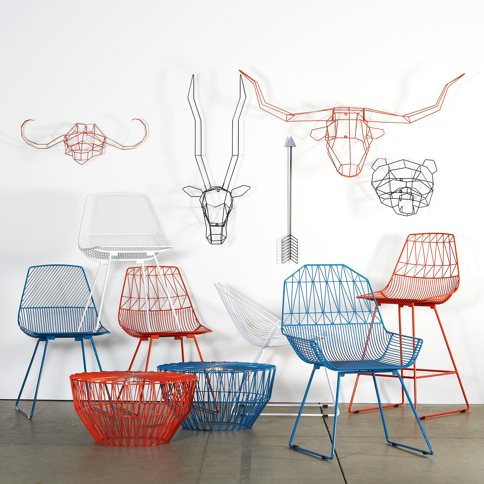 Lovely Bend Features A Playful Collection Of Light, Geometric Pieces. They Are  Based Out Of Los Angeles And Are Most Well Known For Their Fantastic Line  Of Seating ...